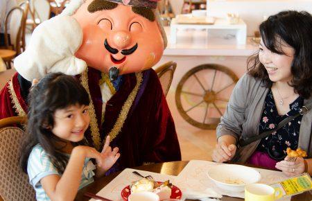家族で楽しむお菓子の城